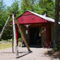 photo of blacksmith shop exterior